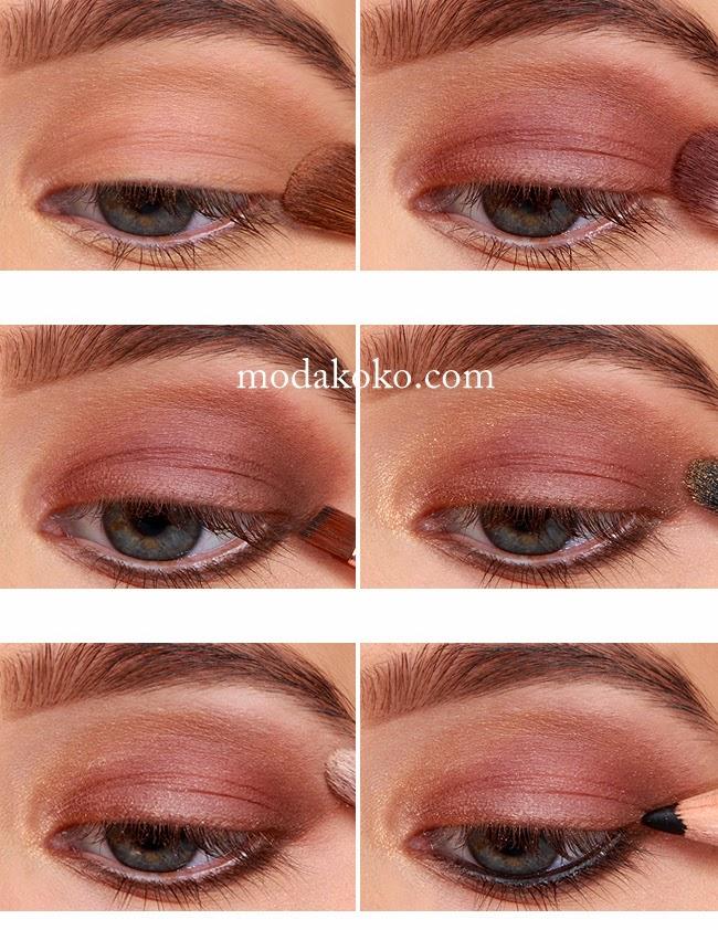 Romantik Göz Makyajı Yapımı
