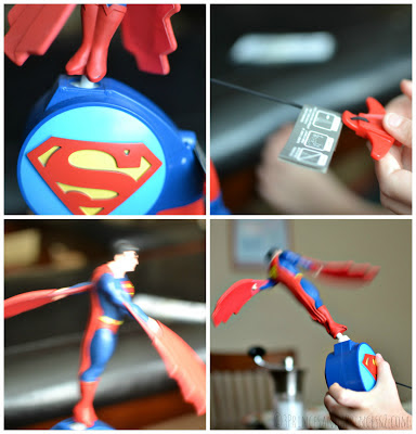 Superman toy from The Bridge Direct