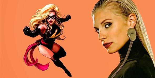 """Katee Sackhoff es Ms. Marvel en """"Los Vengadores: La Era de Ultron"""""""