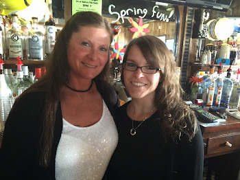 Tammy and Dee...Longest Serving Bartenders on Pearl Street