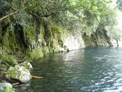 Berges de la Rivière des Marsouins : bassin