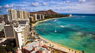 Waikiki, Pantai Tempat Liburan Para Selebriti Dunia