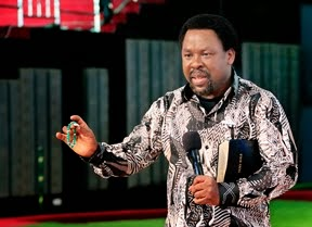 PROPHET T.B JOSHUA: MEDITATING ON GOD'S WORD