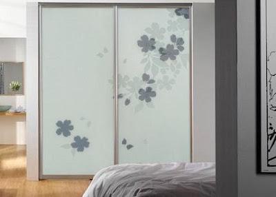 Arenado de mamparas decorativas arenado empavonado en - Decorar puertas de armario ...