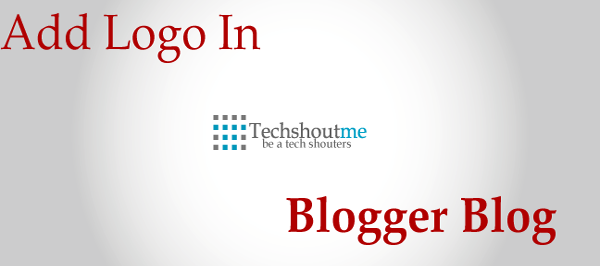 add logo in blogger