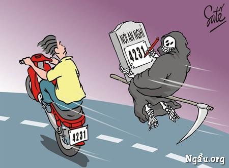 Biếm họa về những hung thần đường phố