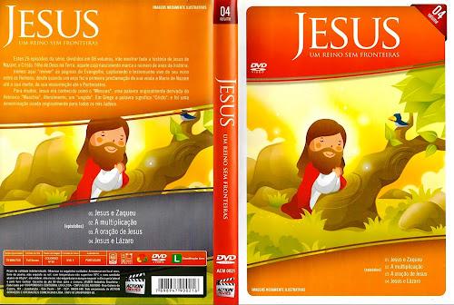 Jesus - Um Reino Sem Fronteiras Vol. 4 - DVD-R