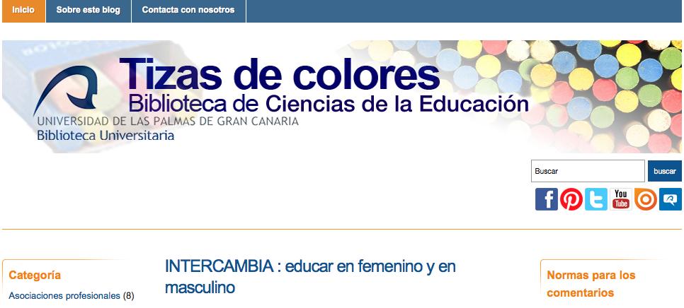Blog Tizas de colores