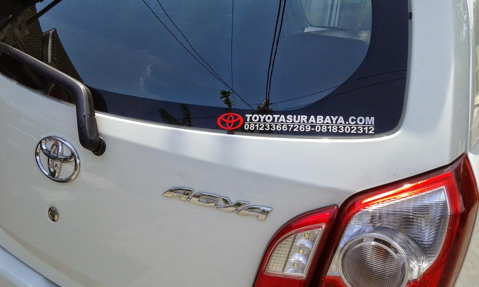 mobil Toyota Agya 1.0 G manual 2014