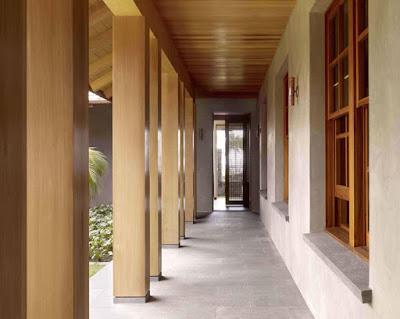 Tropical Classic Hawaiian Cloister House 11