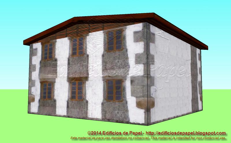 Casita en piedra de estilo gallego