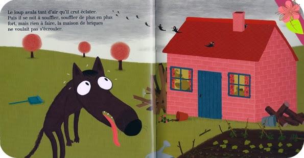 """""""Les Trois Petits Cochons"""" de Nathalie Choux"""
