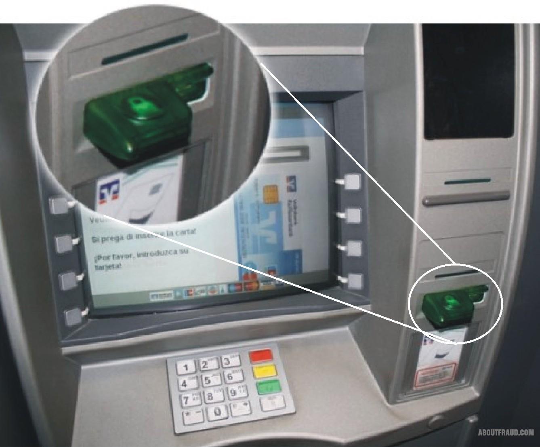 Схема скиммер банкомата своими руками