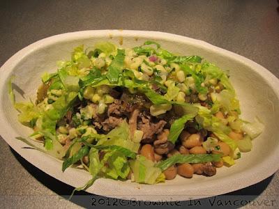 burrito bowl chipotle vancouver
