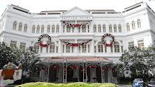 Quatchi at the Raffles Hotel Singapore