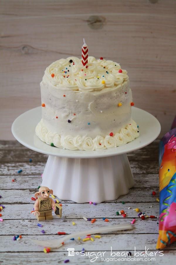 Sugar Bean Bakers Happy Birthday Dobby Butterbeer Mini Cake
