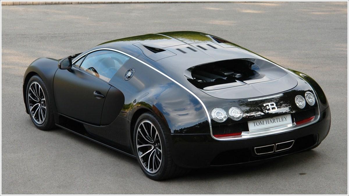 CarScoopers: 2008 Bugatti Veyron Sang Noir