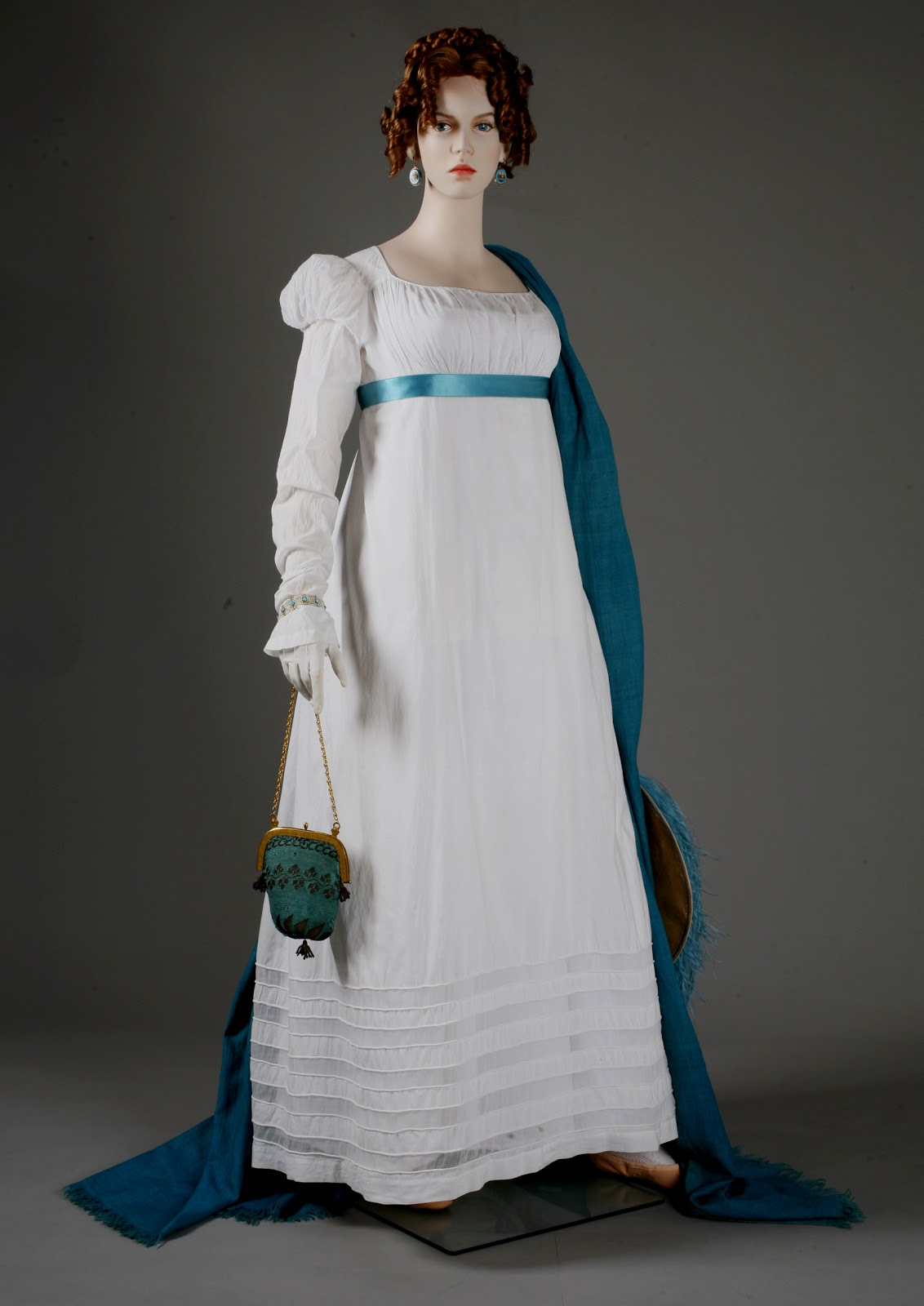 Natalie Garbett Maker Of Historical Clothing And Costumes Fichu Mounting Napoleon And The