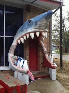 Shark Store Entrance