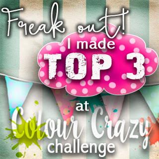 top 3 Colour Crazy challenge