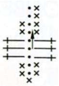 Вязание цветочного венка крючком: Схема и описание работы