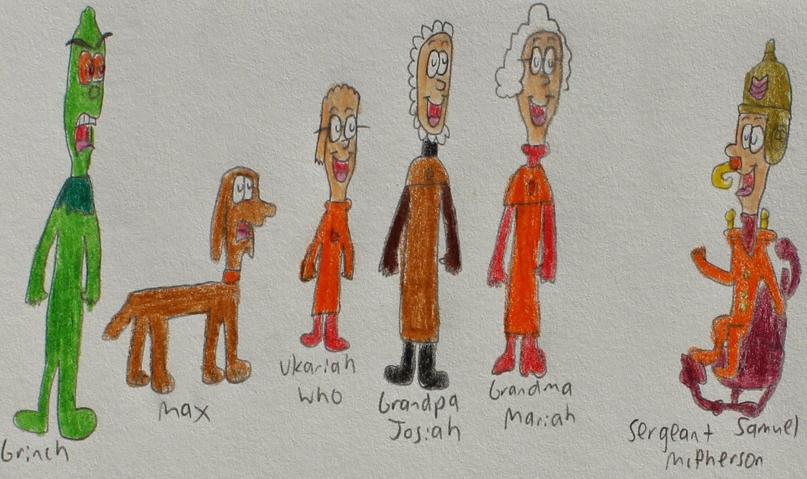 Franklin's World of Cartoons: Halloween is Grinch Night