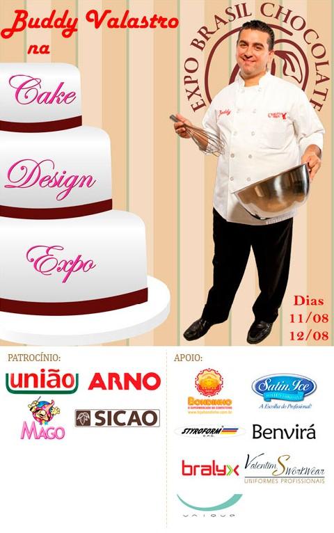 Mundo da Mony: Expo Brasil Chocolate e Cake Design Expo 2015
