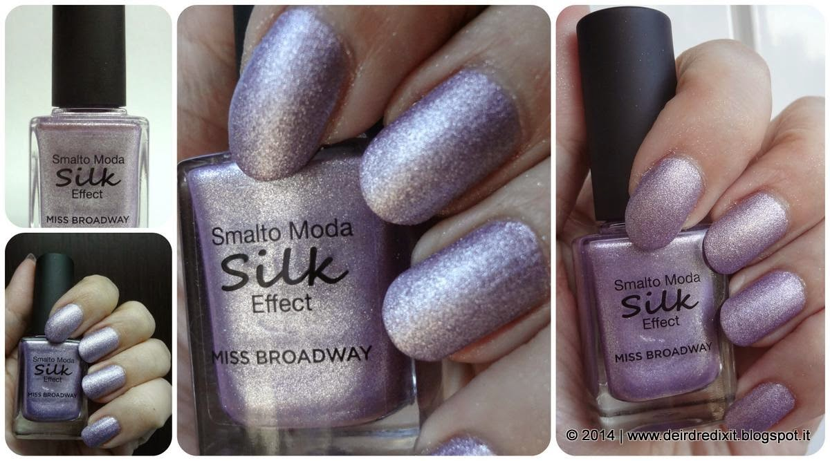Swatch smalto Lillac Silk Effect Miss Broadway