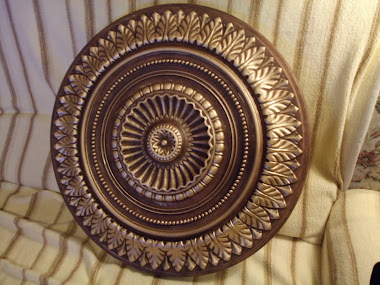 Chandelier Ornament (Ceiling), Gold Plated