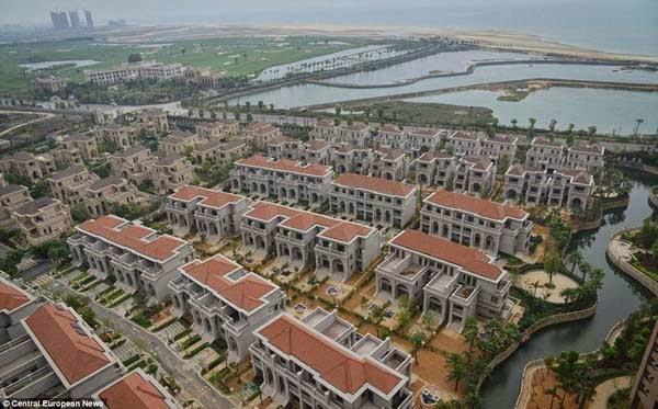 ciudad para ricos en china