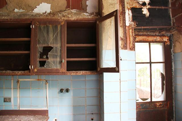 Isla abandonada y solitaria en medio de Nueva York