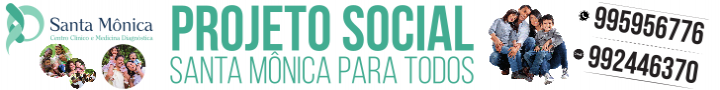 PROJETO SOCIAL SANTA MONICA PARA TODOS