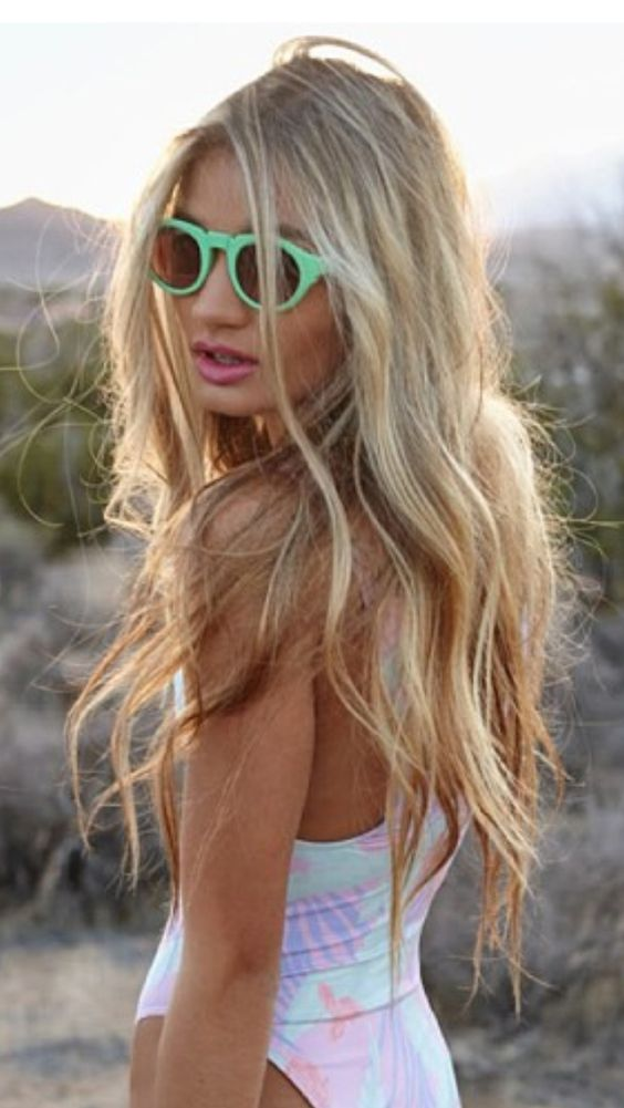 Summer Is Coming Are You Ready For Beach Blonde The