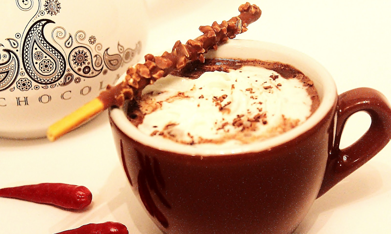 The Red Apron: Spiced Mexican Hot Chocolate