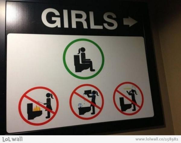 Imagen Para Baño De Damas:Baño para mujeres