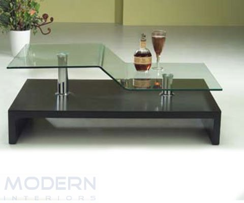 modern living room interior table