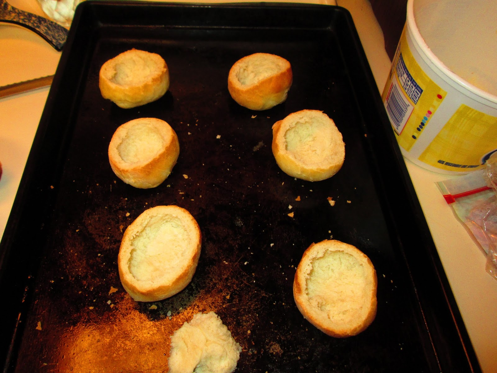 Life on the Mountainside : Household Experiment: Mini Roll ...