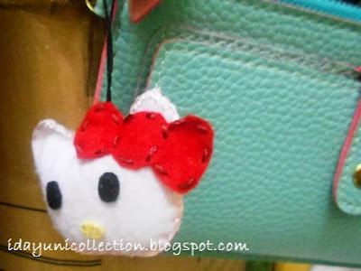 DIY: Cara Membuat Key-Chain Hello Kitty dari Kain Felt