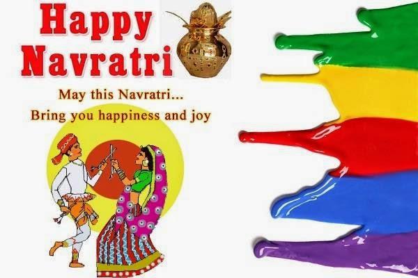Navratri 2014 colors, nine colors of Navratri 2014