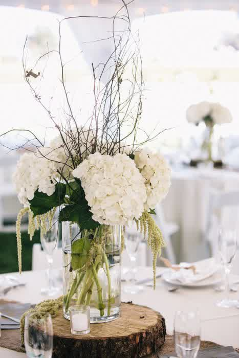 Country Rustic Western Wedding Centerpieces | wedding bridal dresses