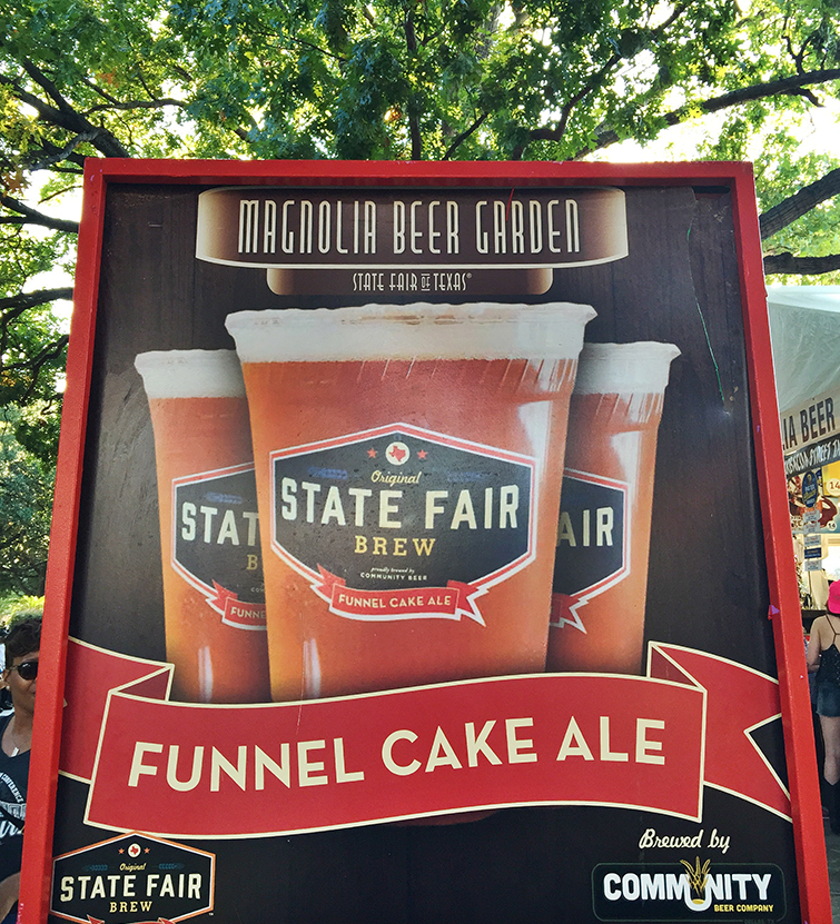 state fair of texas funnel cake ale