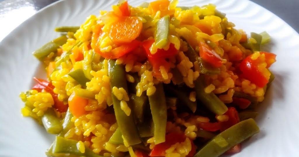Arroz al curry con verduras en olla gm - Judias pintas con arroz olla express ...