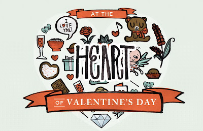 Valentines Day At the Heart