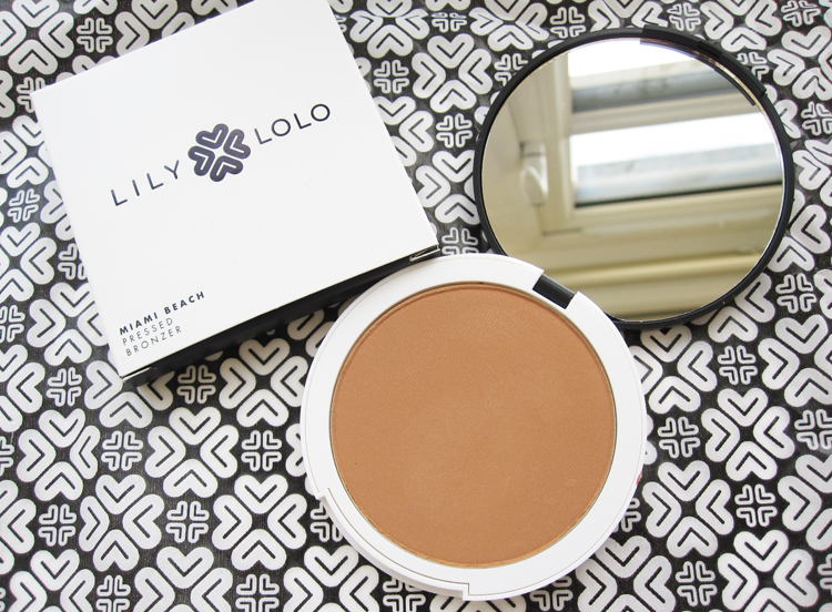 Review & Swatches: Lily Lolo Pressed Bronzer in Miami Beach