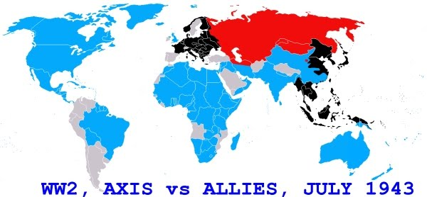 ysogicpyti: map of world war 2 allies and axis