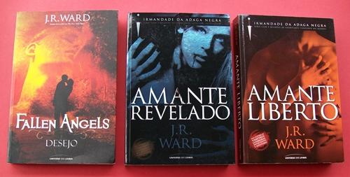 Desejo, Amante Revelado e Amante Liberto da J.R.Ward