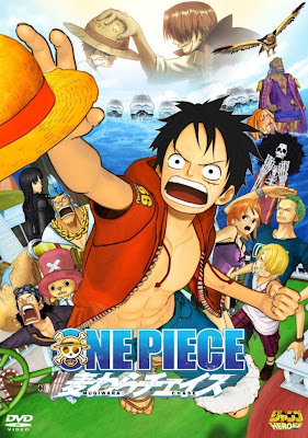 Poster One Piece 3D Straw Hat Chase
