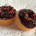 Mini pumpkin donuts