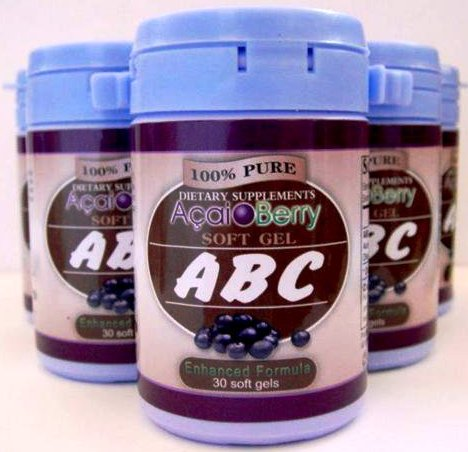 Kimochi Shop Beauty Products: ABC ACAI BERRY - Pelangsing ...