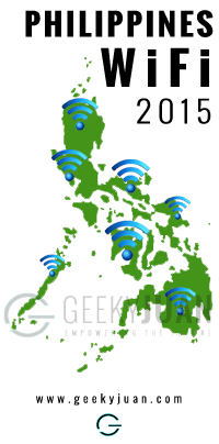 Free Wi-Fi project in the Philippines by DOST in 2015 - Geeky Juan